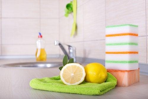 소독에 레몬을 활용하는 방법