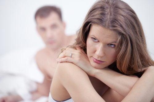 여성이 겪는 무오르가슴증의 유형