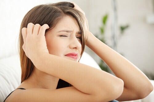 스트레성 두통의 축농증