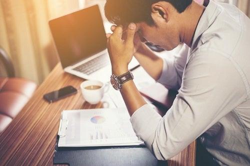스트레스성 두통의 피로