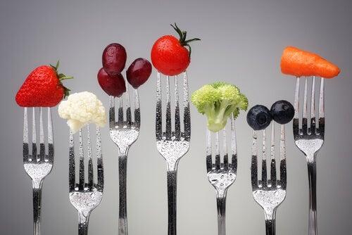 아침 식사의 균형 잡힌 식단