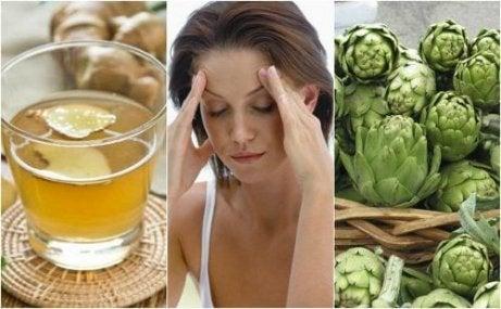 자연적인 편두통 치료법 5가지