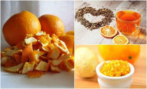 오렌지 껍질의 흥미로운 활용법 5가지