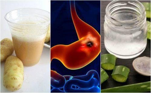 위궤양을 치료하는 5가지 자연 요법