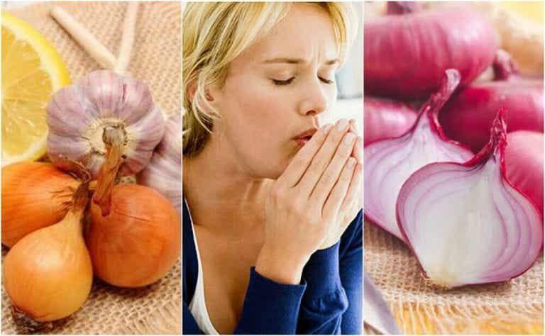 기침을 자연적으로 해소하는 양파 요법