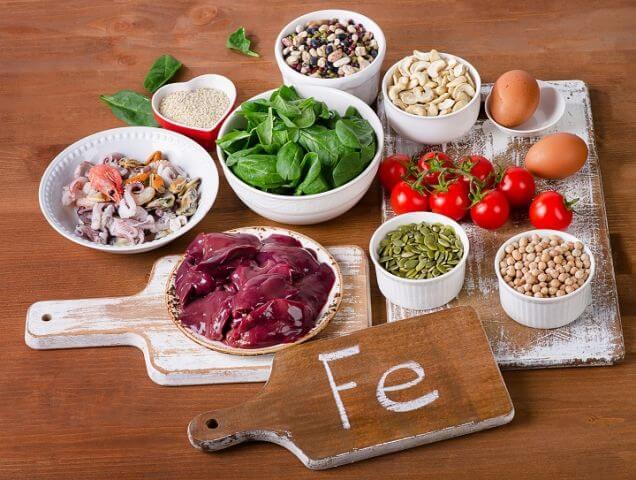 철분 함유 식품
