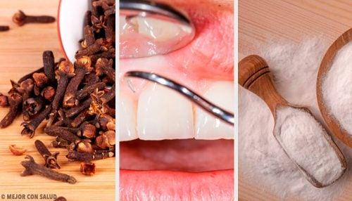 잇몸 염증을 없애는 자연 요법
