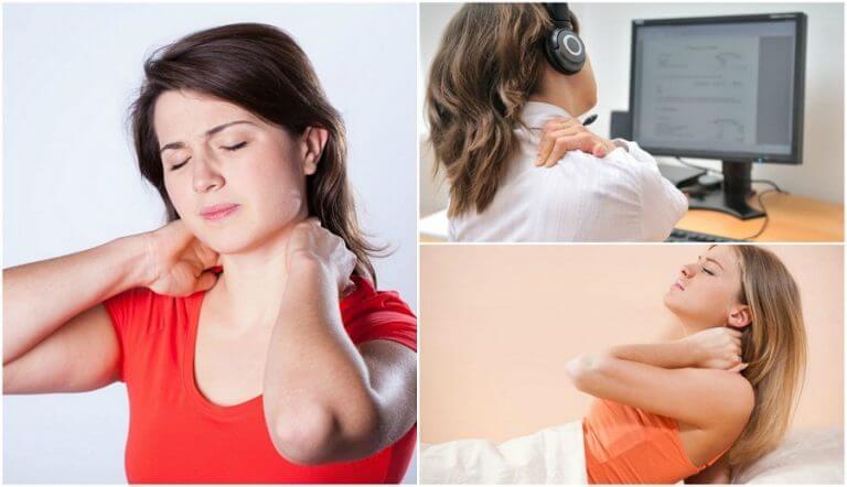 목에 통증이 생기는 6가지 원인