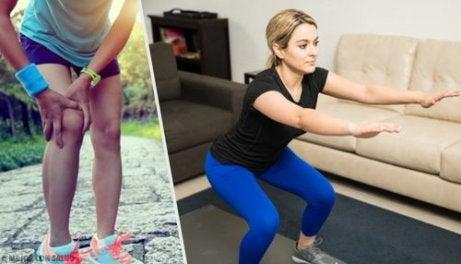 튼튼한 무릎을 위한 5가지 팁과 운동