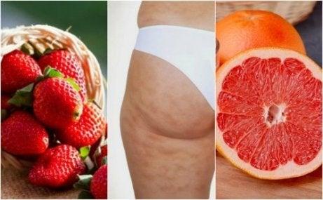 셀룰라이트를 없애 주는 맛있는 과일