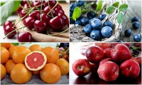 요산 축적을 줄이는 7가지 과일
