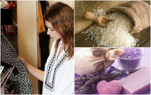 옷장 냄새 제거를 위한 비법 7가지