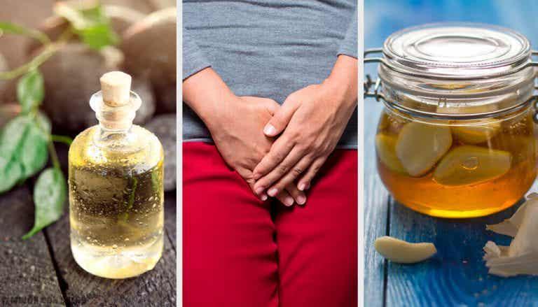 질의 악취를 제거하는 9가지 자연요법
