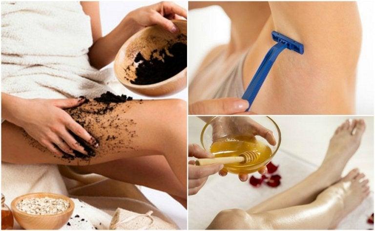 인그로운 헤어를 예방하는 6가지 권장법