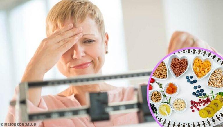 폐경기 다이어트에 도움이 되는 이상적인 식단