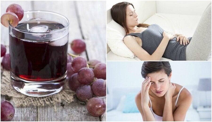 포도 주스를 꾸준히 섭취하는 것으로 인한 이점 6가지