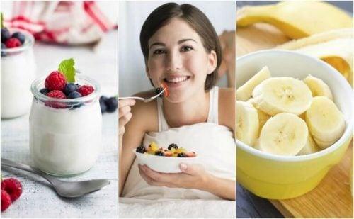 잠자기 전에 먹기 좋은 6가지 건강 간식