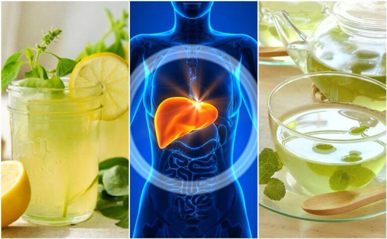자는 동안 간을 청소하는 5가지 음료