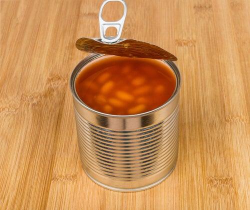 통조림 콩