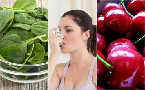 천식을 이겨내는 데 도움이 되는 7가지 식품