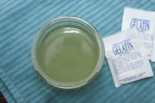 신경성 위염을 젤라틴