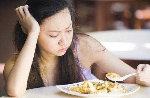 식욕 감퇴
