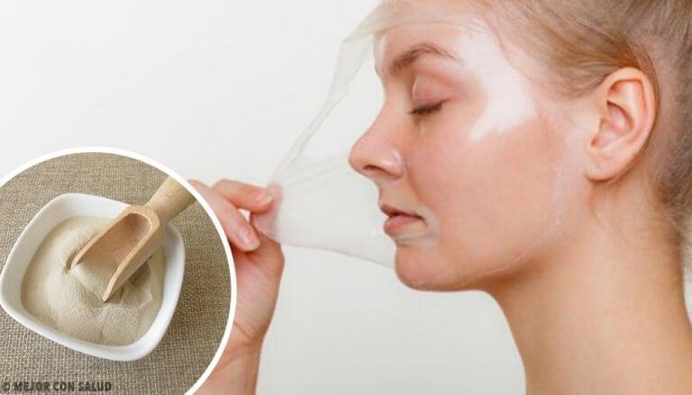 피부 재생 효과가 있는 4가지 필 오프 마스크