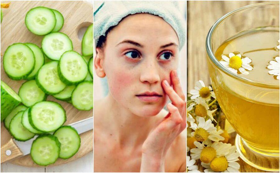 눈밑 지방과 다크서클을 줄여주는 5가지 재료