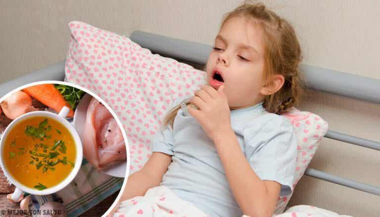 아이들을 위한 6가지 천연 기침 치료제