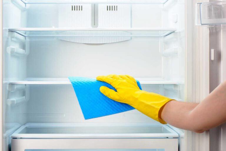 냉장고 청소하기