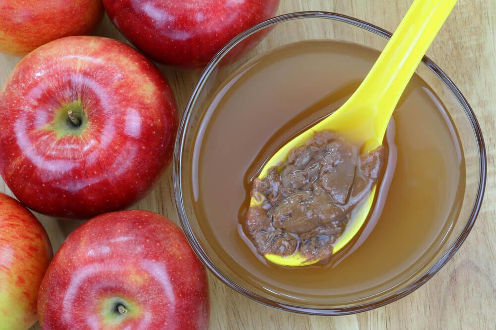 건강한 체중 감량에 좋은 사과식초