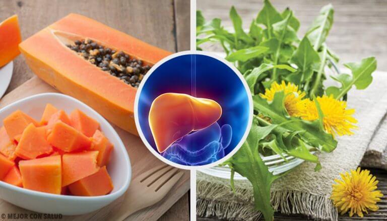간의 염증을 줄여주는 천연 요법