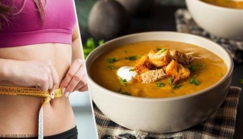 지방 연소 효과가 있는 수프 다이어트