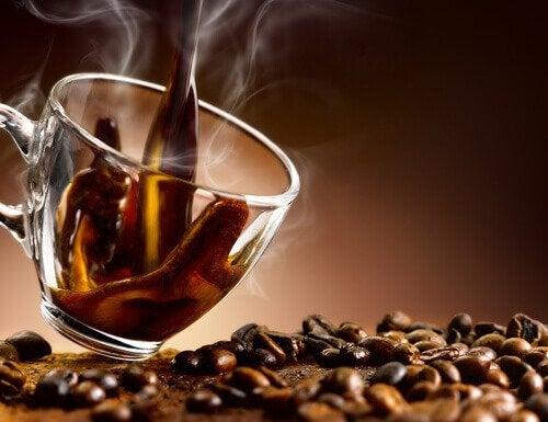 신경성 불안을 커피