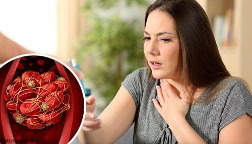 주의해야 할 혈전 증상 8가지