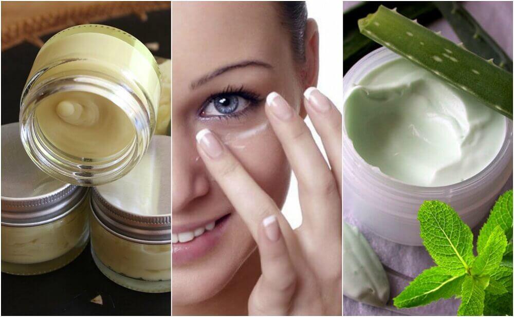 건강한 피부를 위한 천연 아이크림 5가지