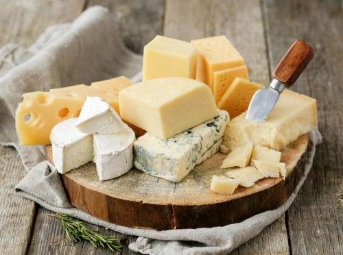 각양각색의 매력을 가진 건강한 치즈