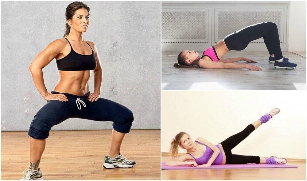 집에서 할 수 있는 허벅지 운동 5가지
