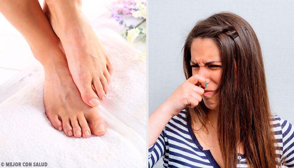 발 냄새를 없애는 11가지 방법