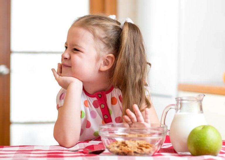 식욕이 없는 아이들을 위한 자연 요법
