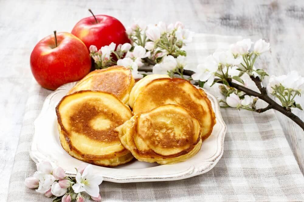 사과를 맛있게 먹는 방법 _ 사과 팬케이크