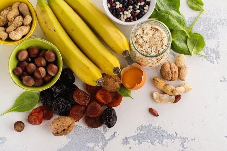 칼륨이 가장 많이 함유되어 있는 식품