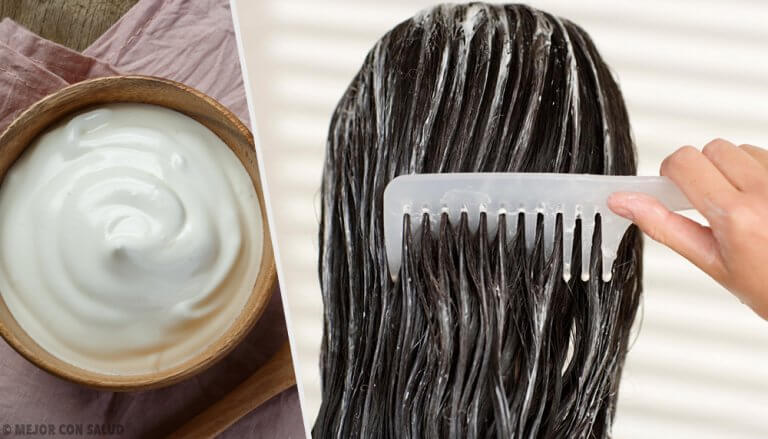 머리카락을 건강하게 만드는 마요네즈 마스크