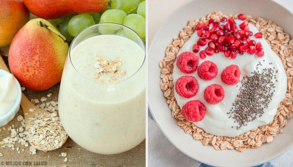 신진대사를 가속화하는 4가지 오트밀 아침 식사