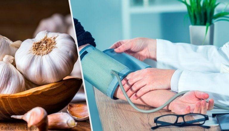 자연 고혈압 치료제로 활용할 수 있는 마늘