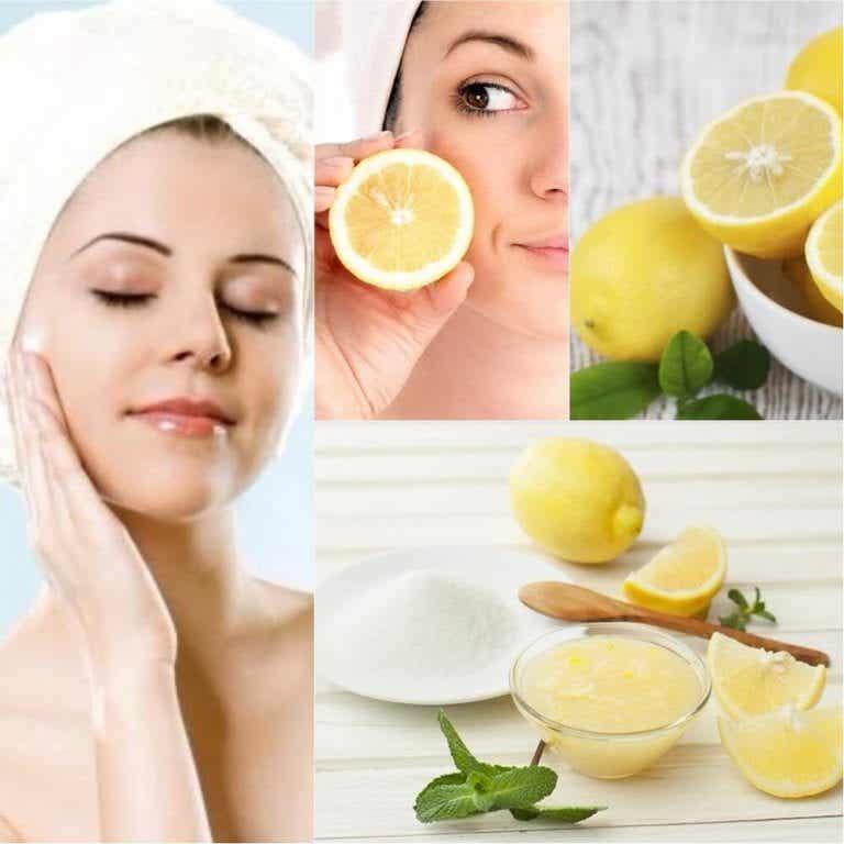 레몬을 천연 화장품으로 사용하는 6가지 방법