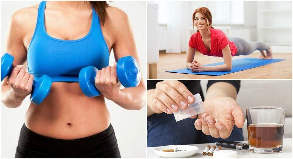 근육량 증가를 막는 6가지 습관