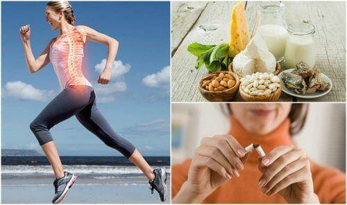 골다공증 예방을 위한 7가지 습관