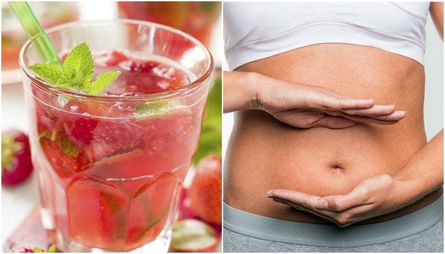 딸기 레몬 물로 몸을 디톡스하는 방법