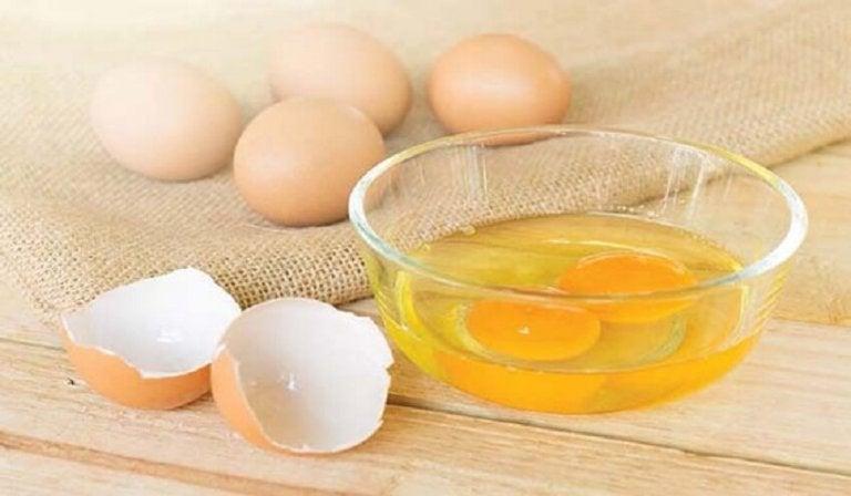 달걀, 시금치, 오렌지 주스